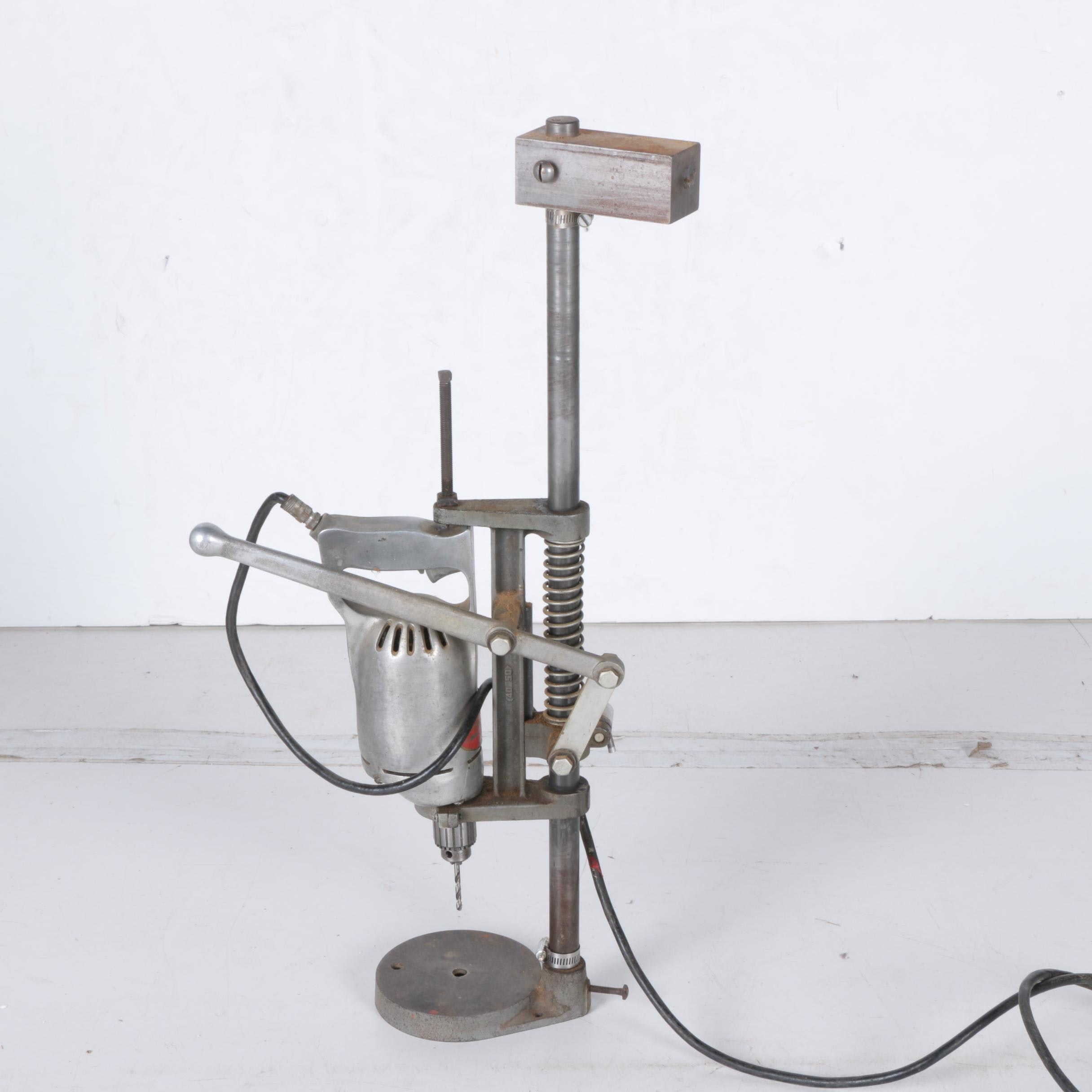 """Bradford """"Metal Master"""" Electric Drill with Stand"""