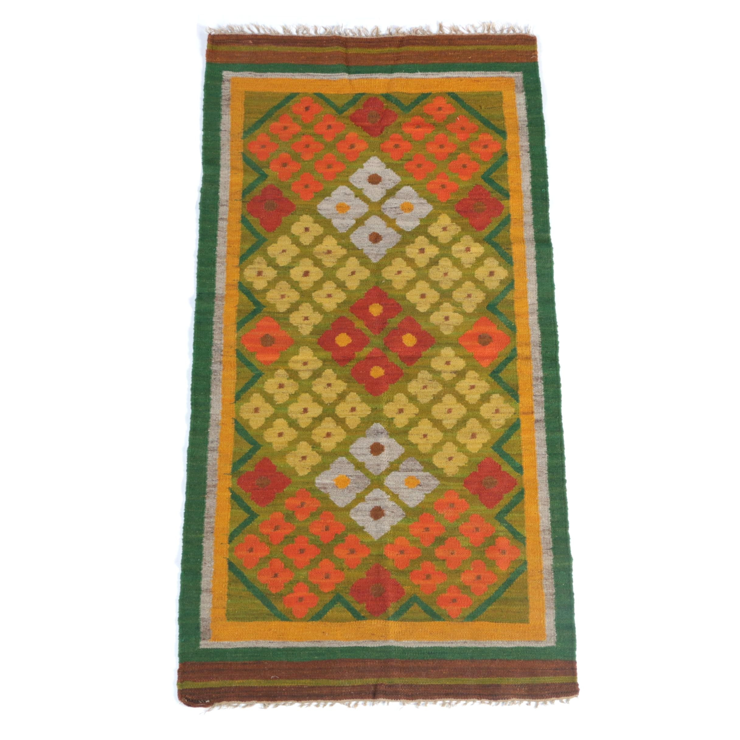 Handwoven Wool Area Kilim