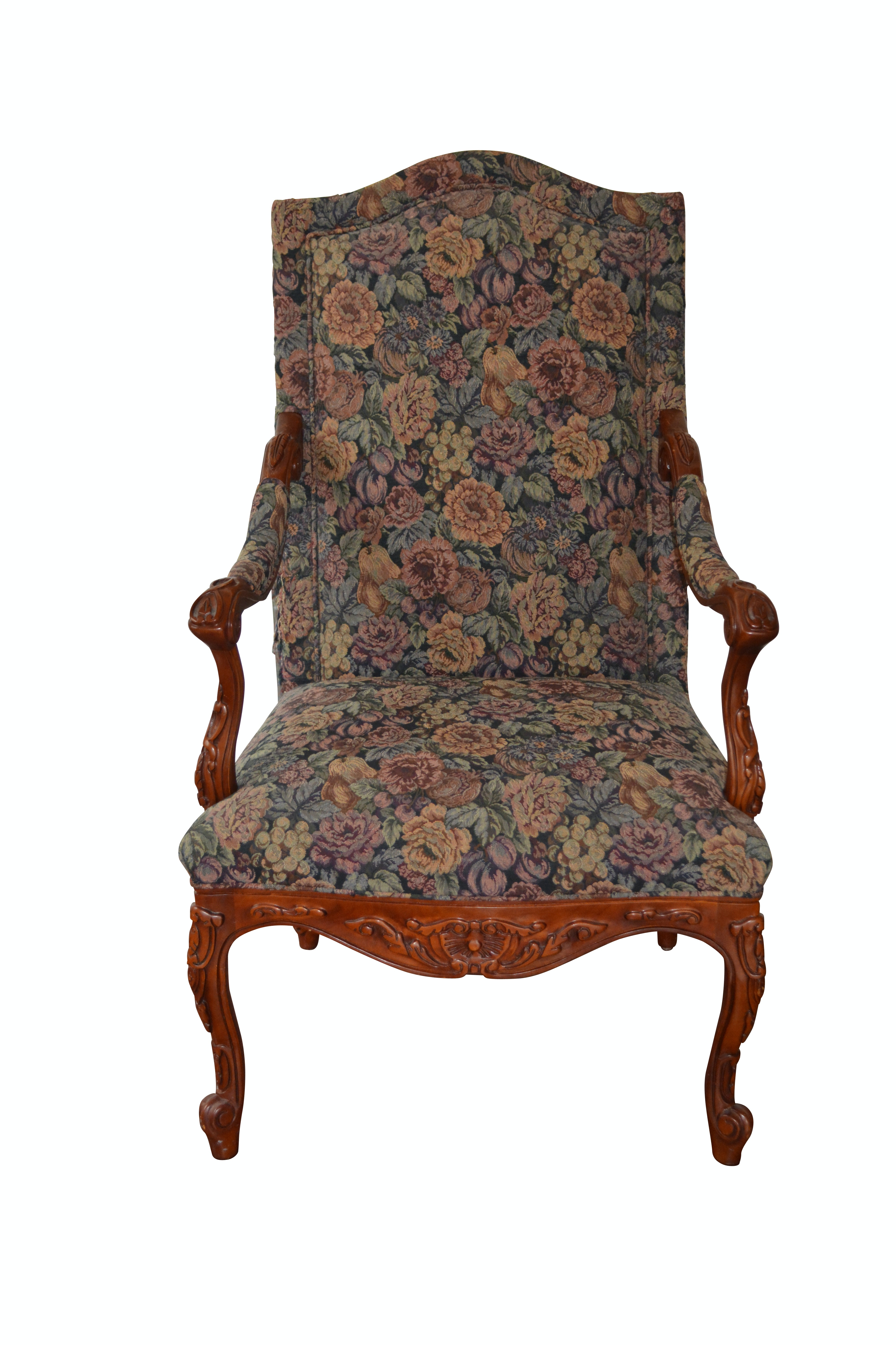 Louis XV Style Armchair by Hancock & Moore