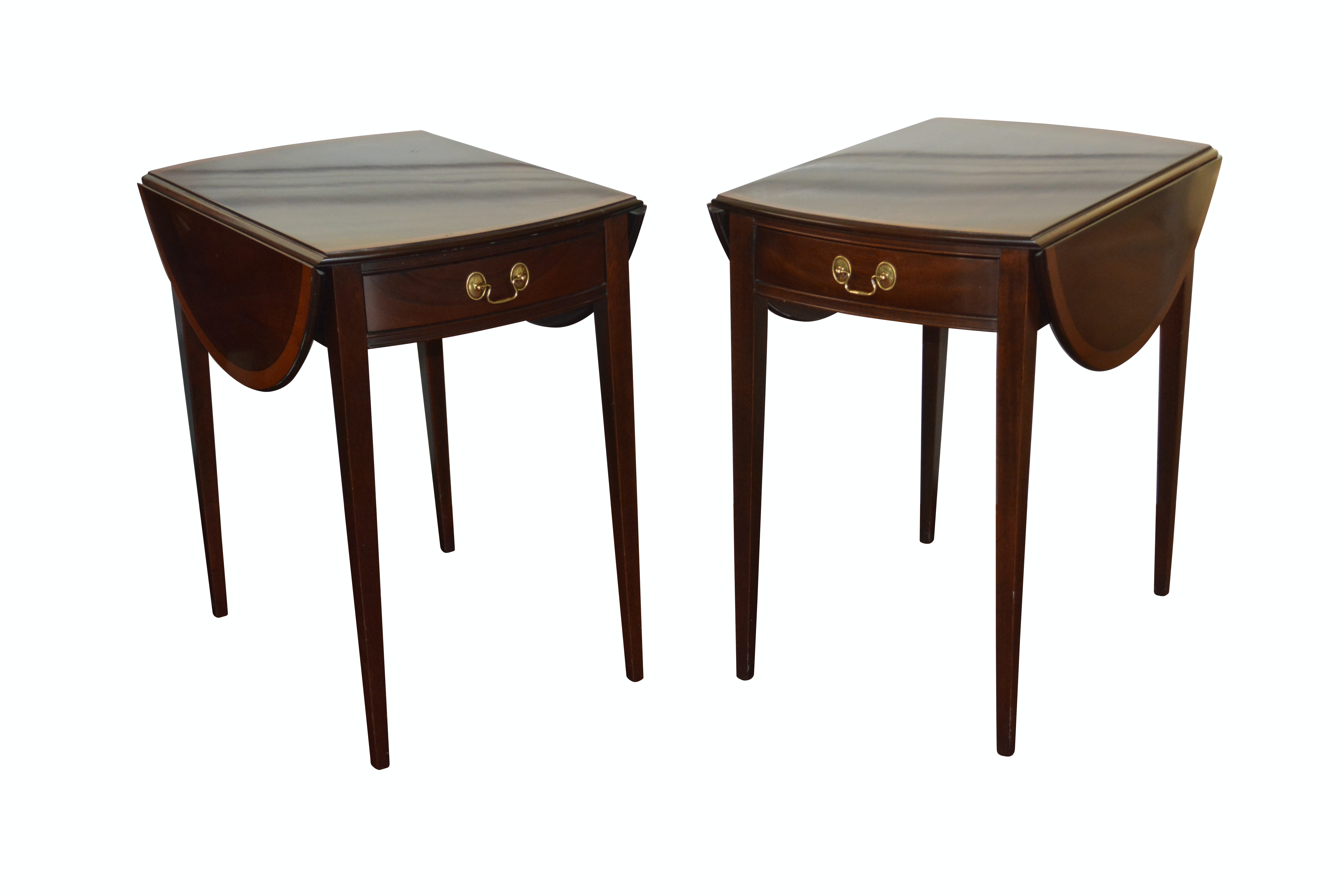 Pair of Federal Style End Tables by Stickley