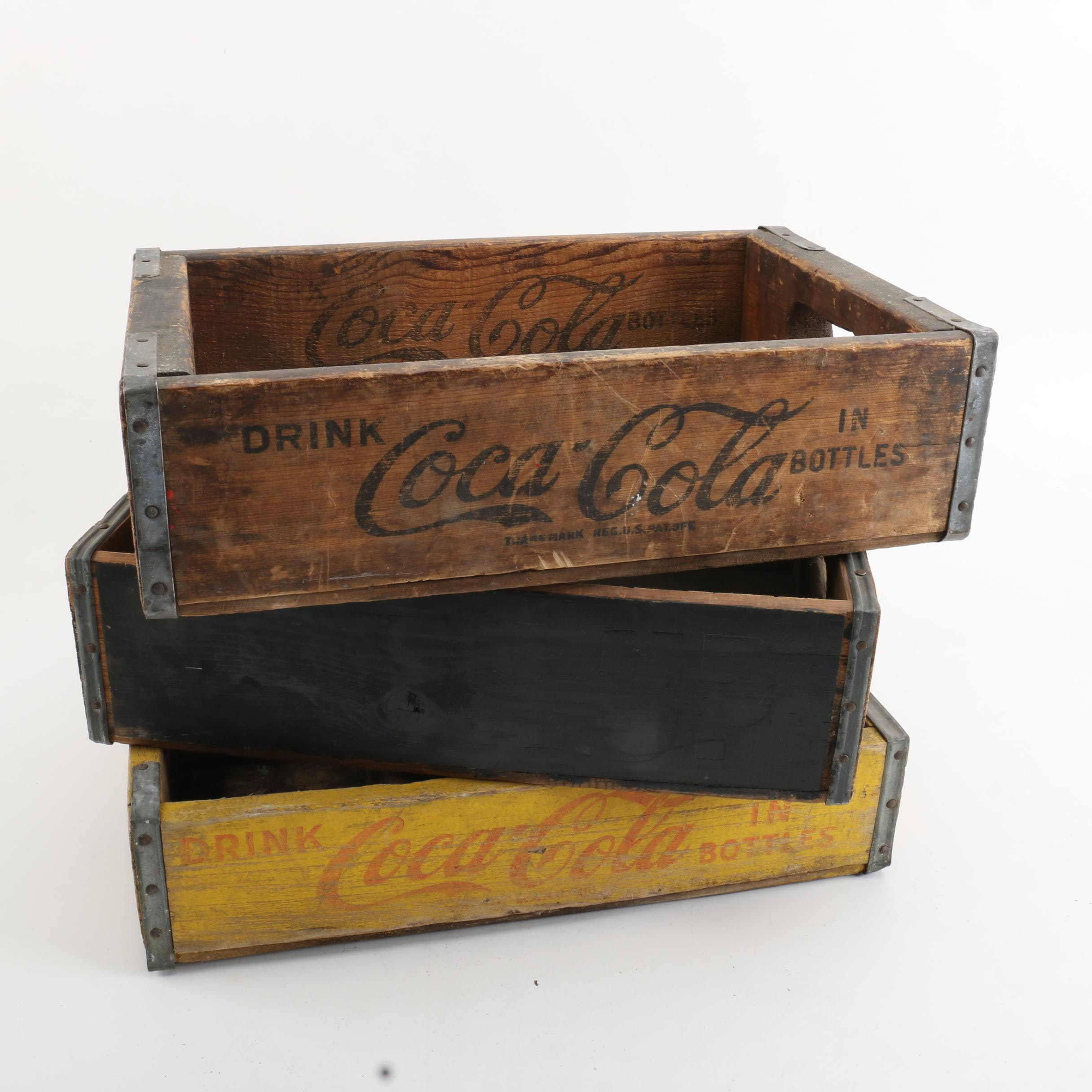 Coca-Cola Wooden Crates