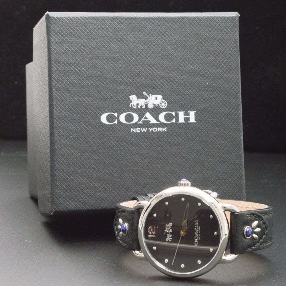 Coach Japan Movement Stainless Steel Wristwatch