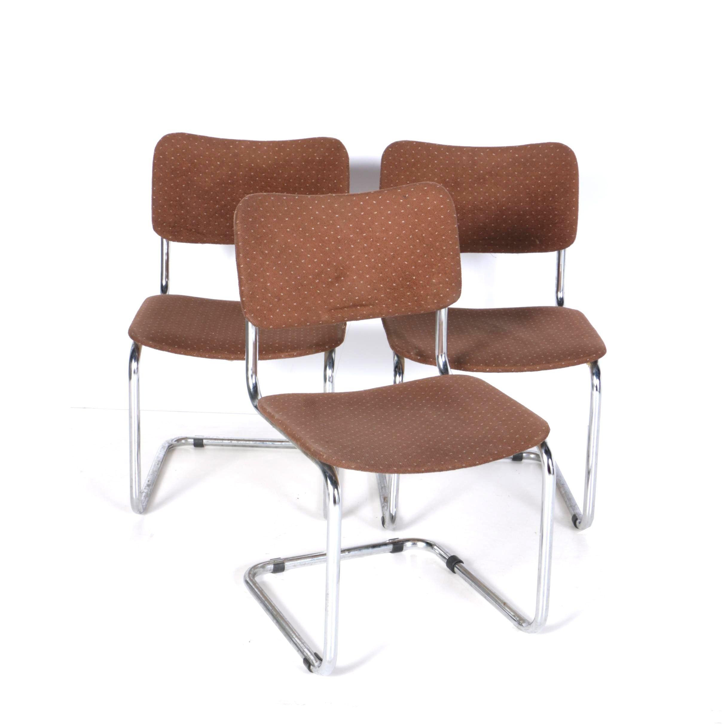 """Three 1980s Modern """"Cesca"""" Style Chairs"""