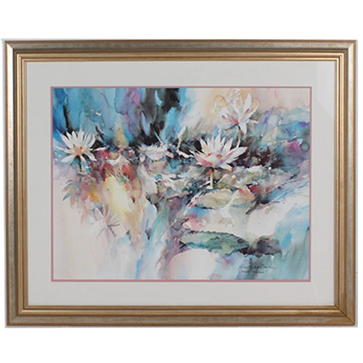 "Brent Heighton ""Aquatic Splendor"" Framed Offset Lithograph"