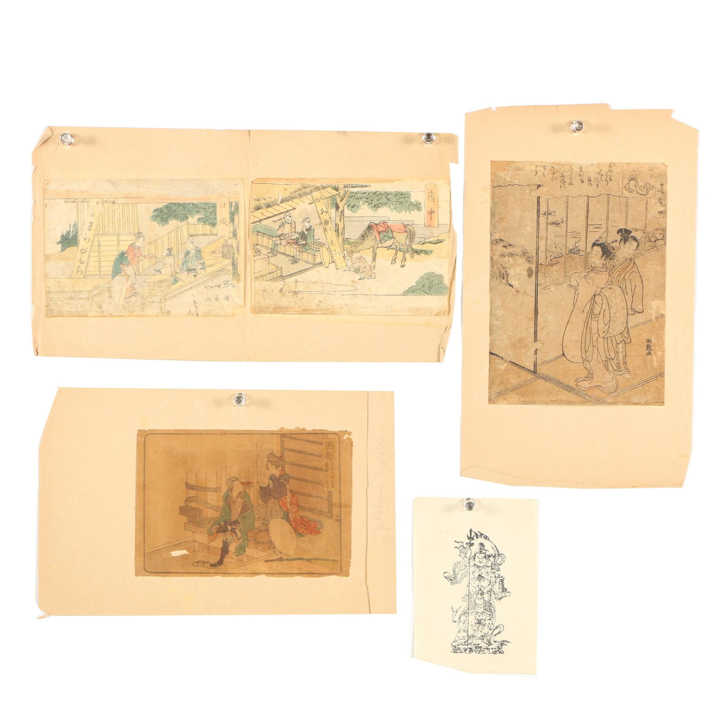 Collection of Japanese Woodblock Prints