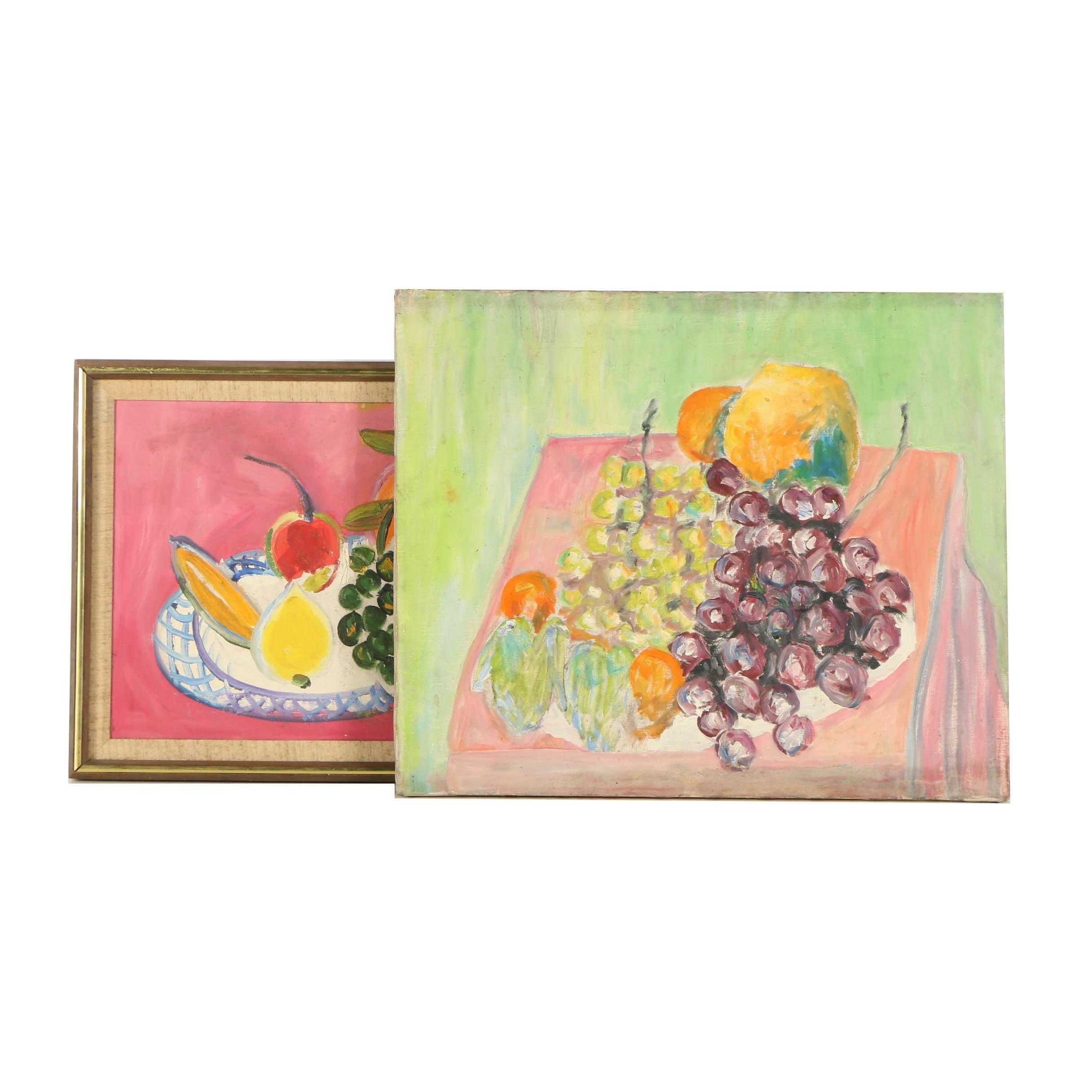 Oil Paintings of Fruit