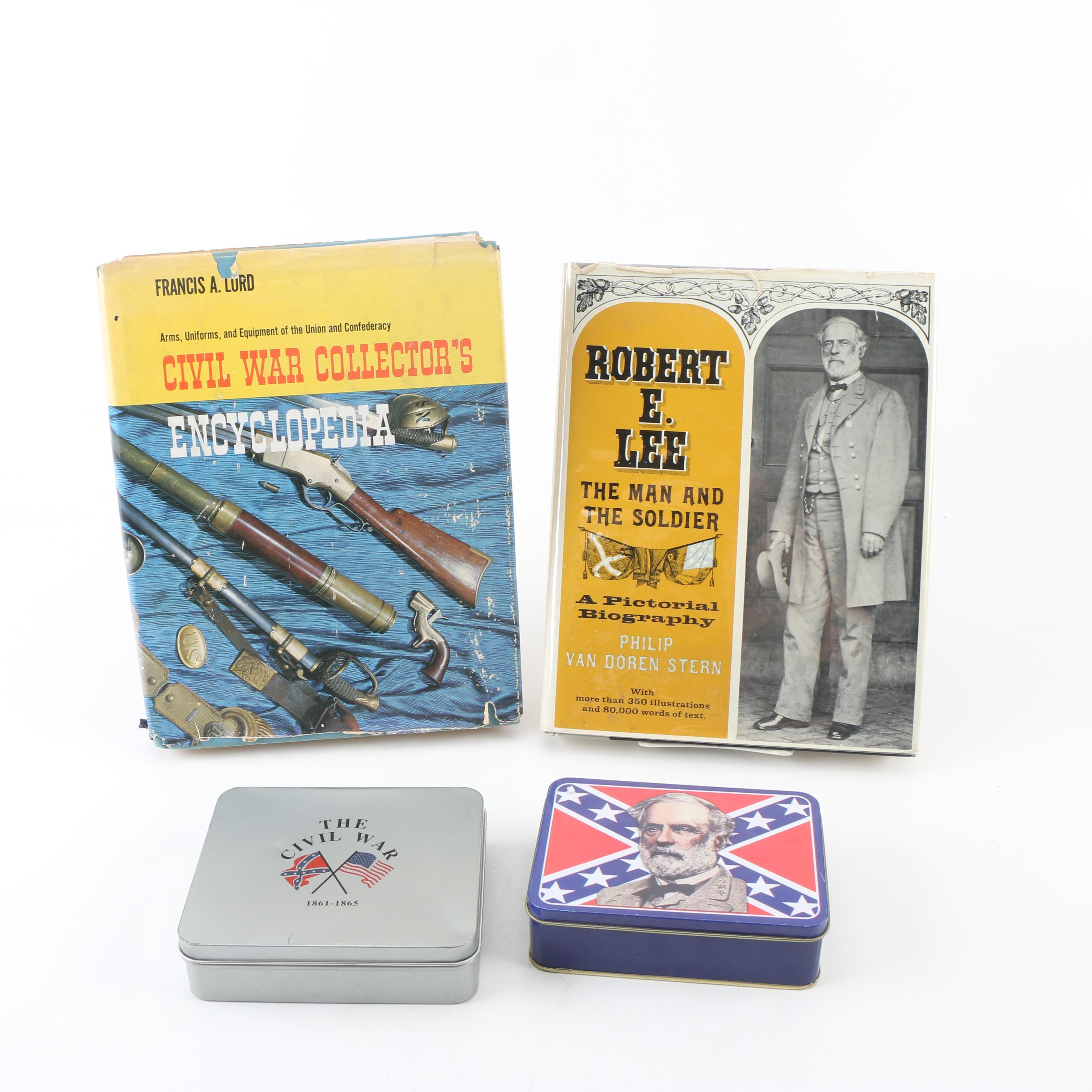 """Civil War Collector's Encyclopedia"", Knife and Robert E. Lee Knife Memorabilia"