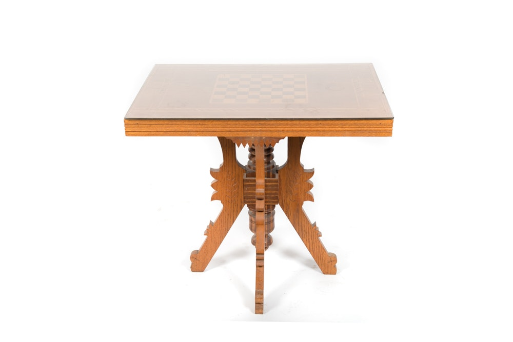 Eastlake Style Game Table