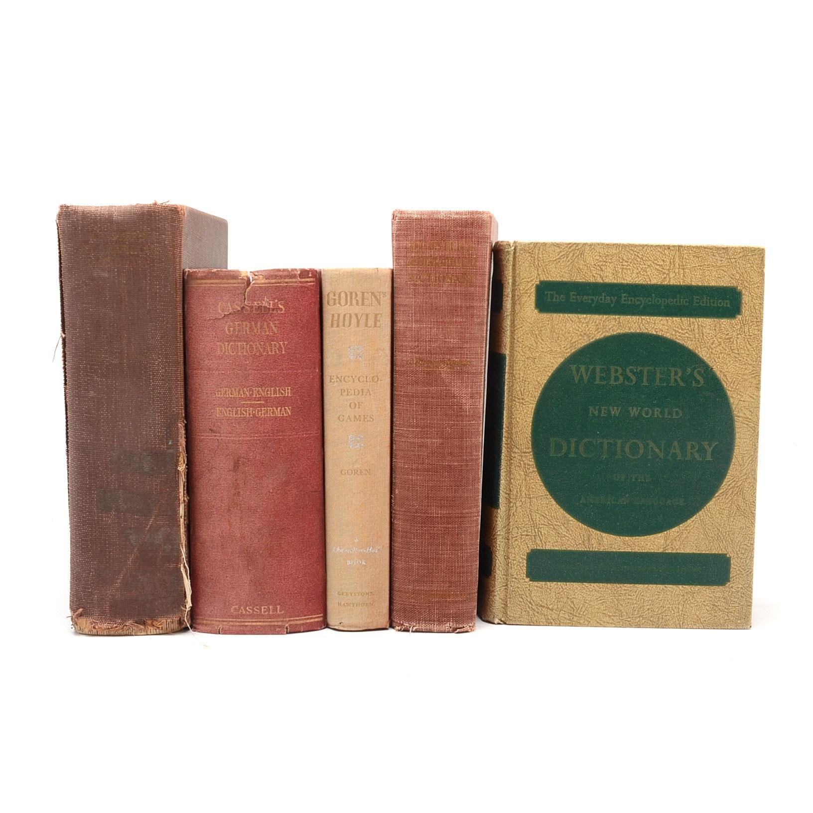 Vintage Dictionaries and Encyclopedias