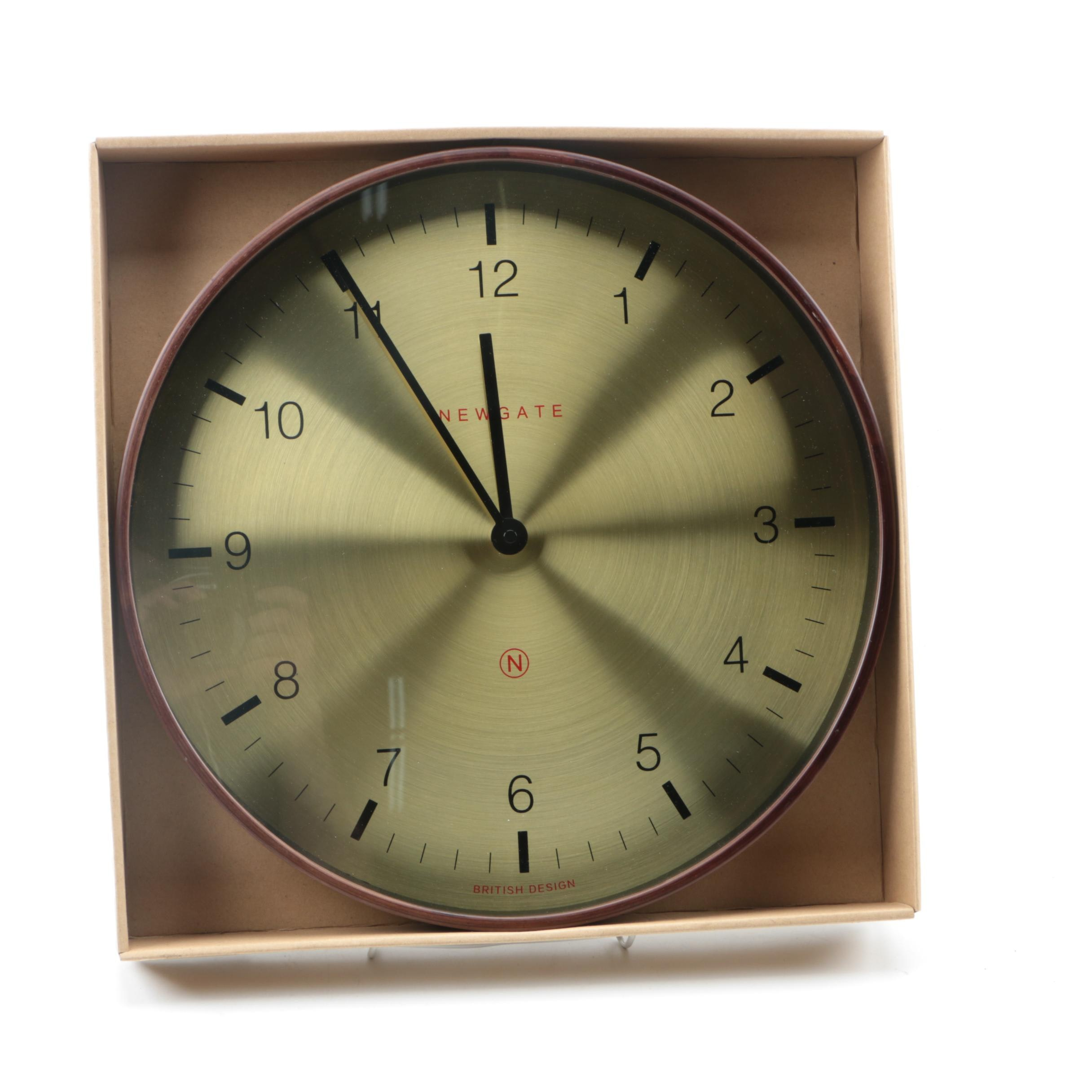 "Newgate ""The Mr. Clarke Clock"" Wall Clock"