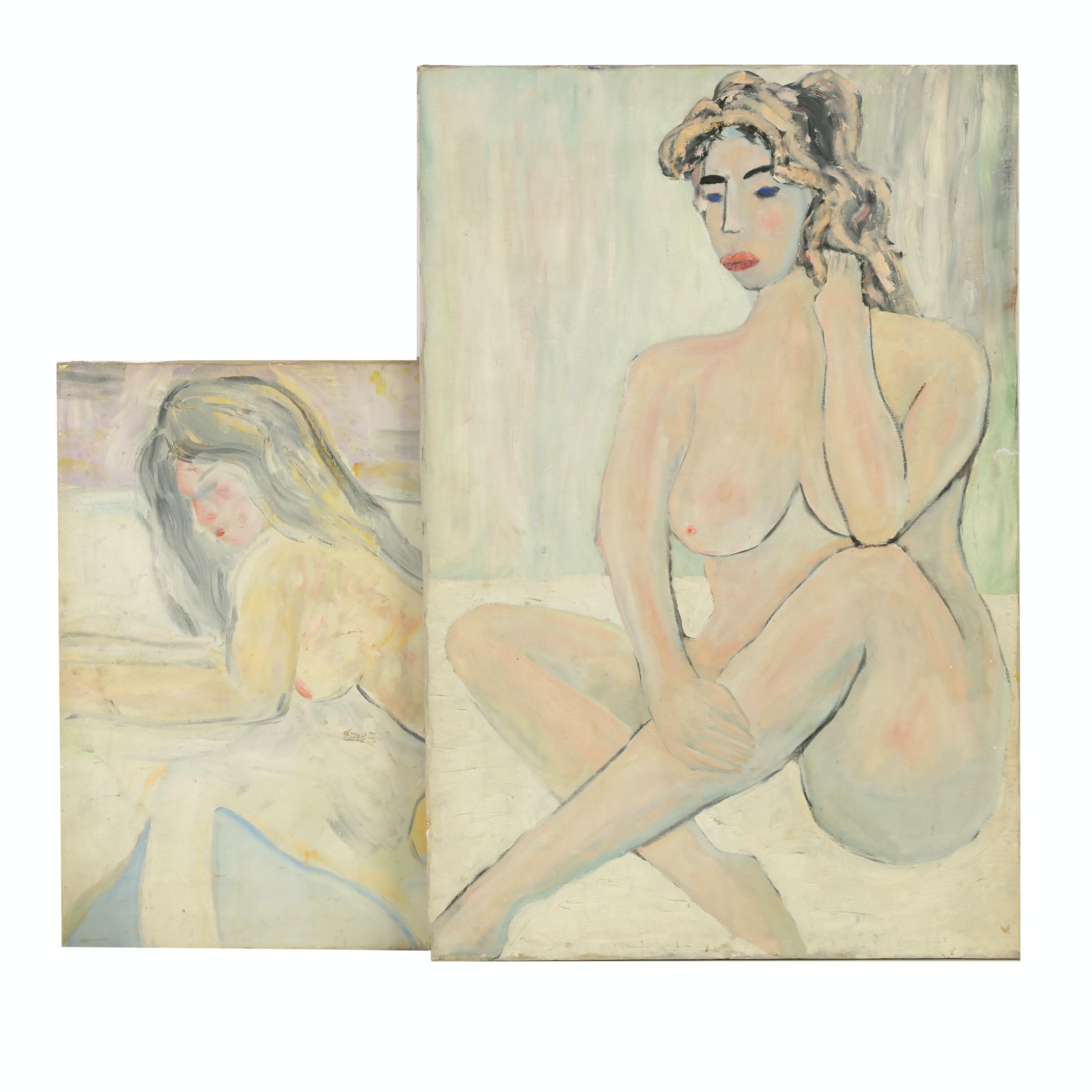 Oil Paintings of Female Figures