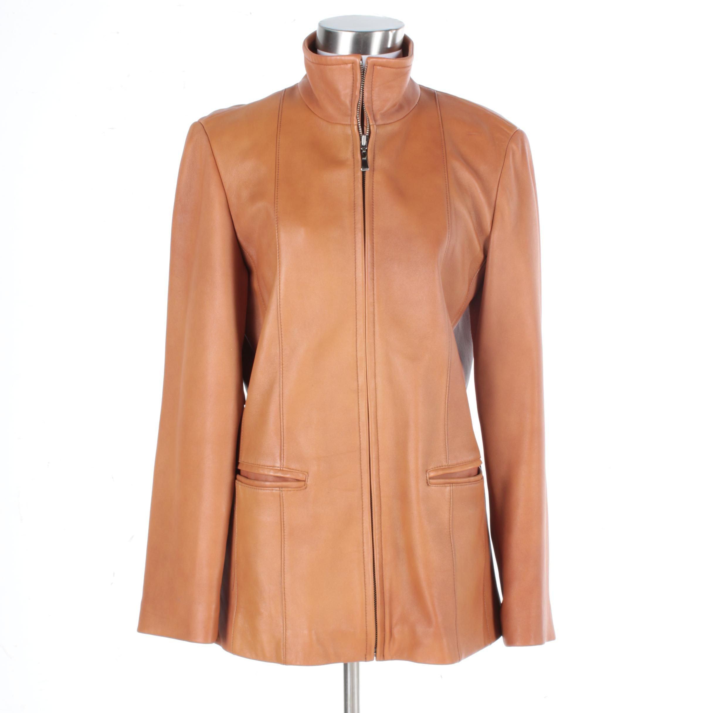 Women's LNR by La Nouvelle Renaissance Leather Jacket