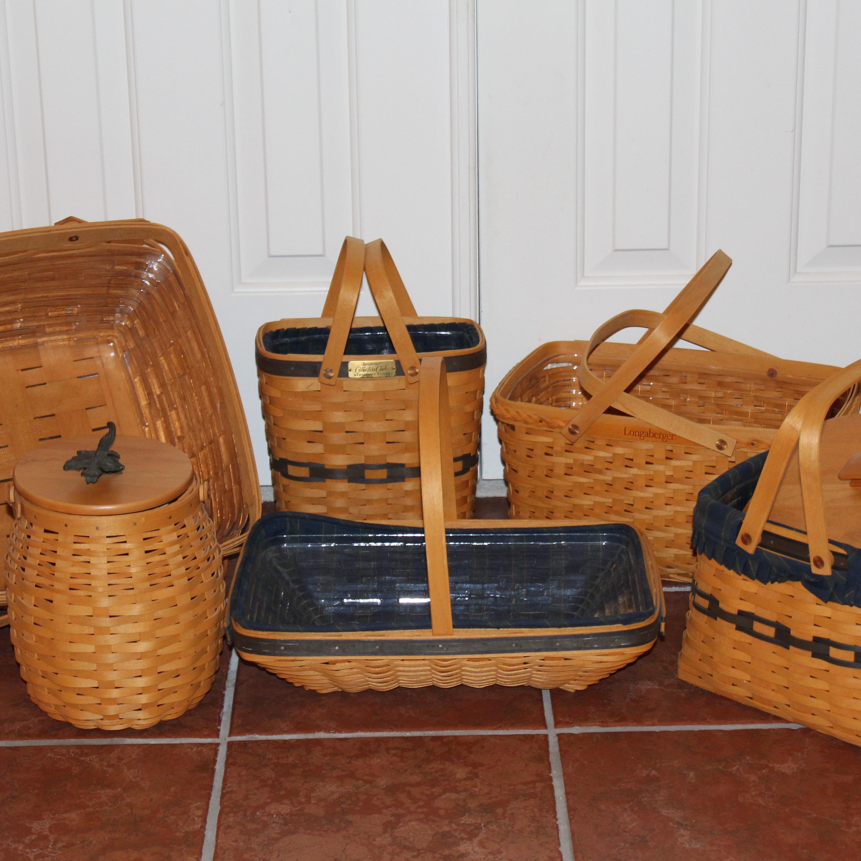 Assorted Longaberger Baskets