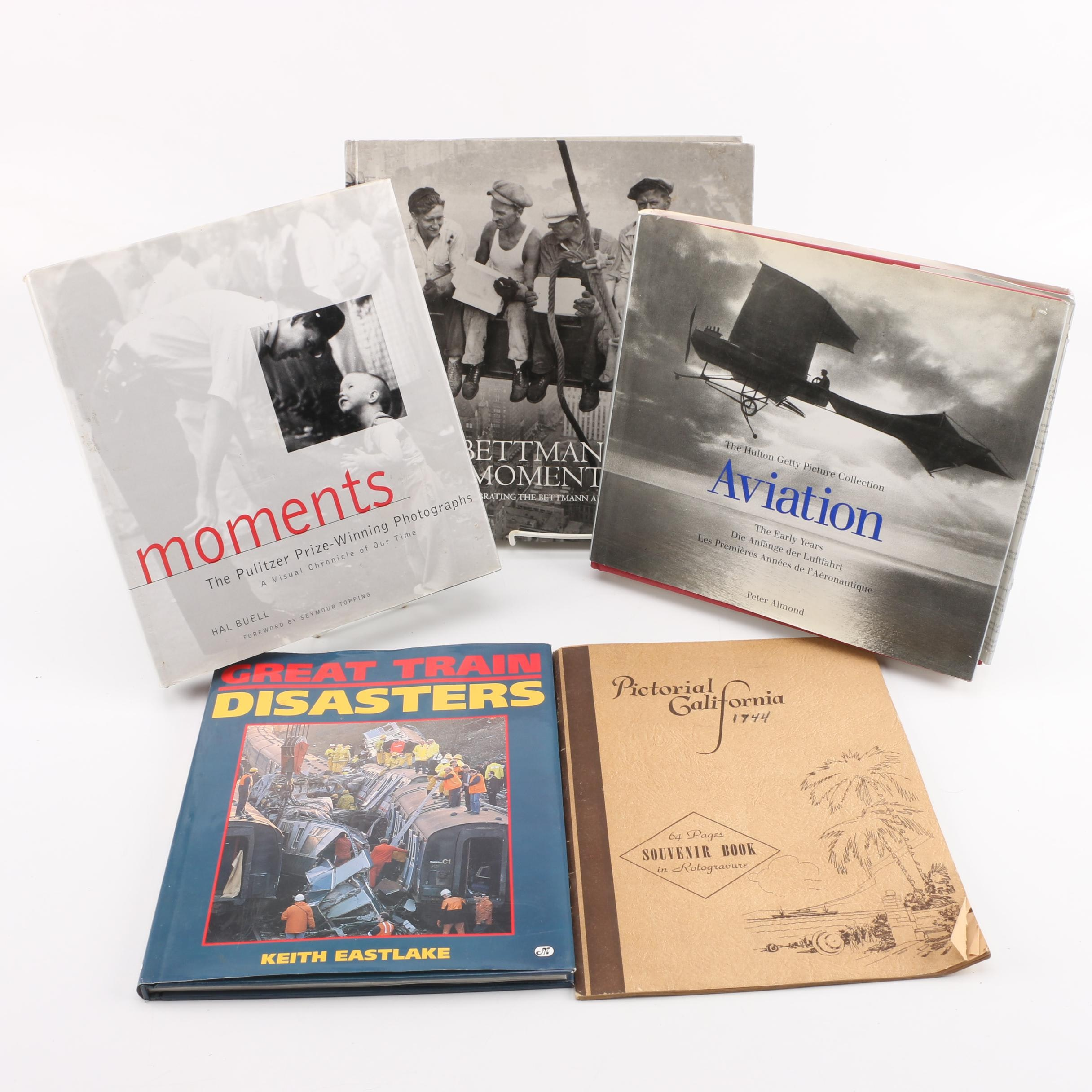"""Photography Books including """"Bettman Moments"""""""