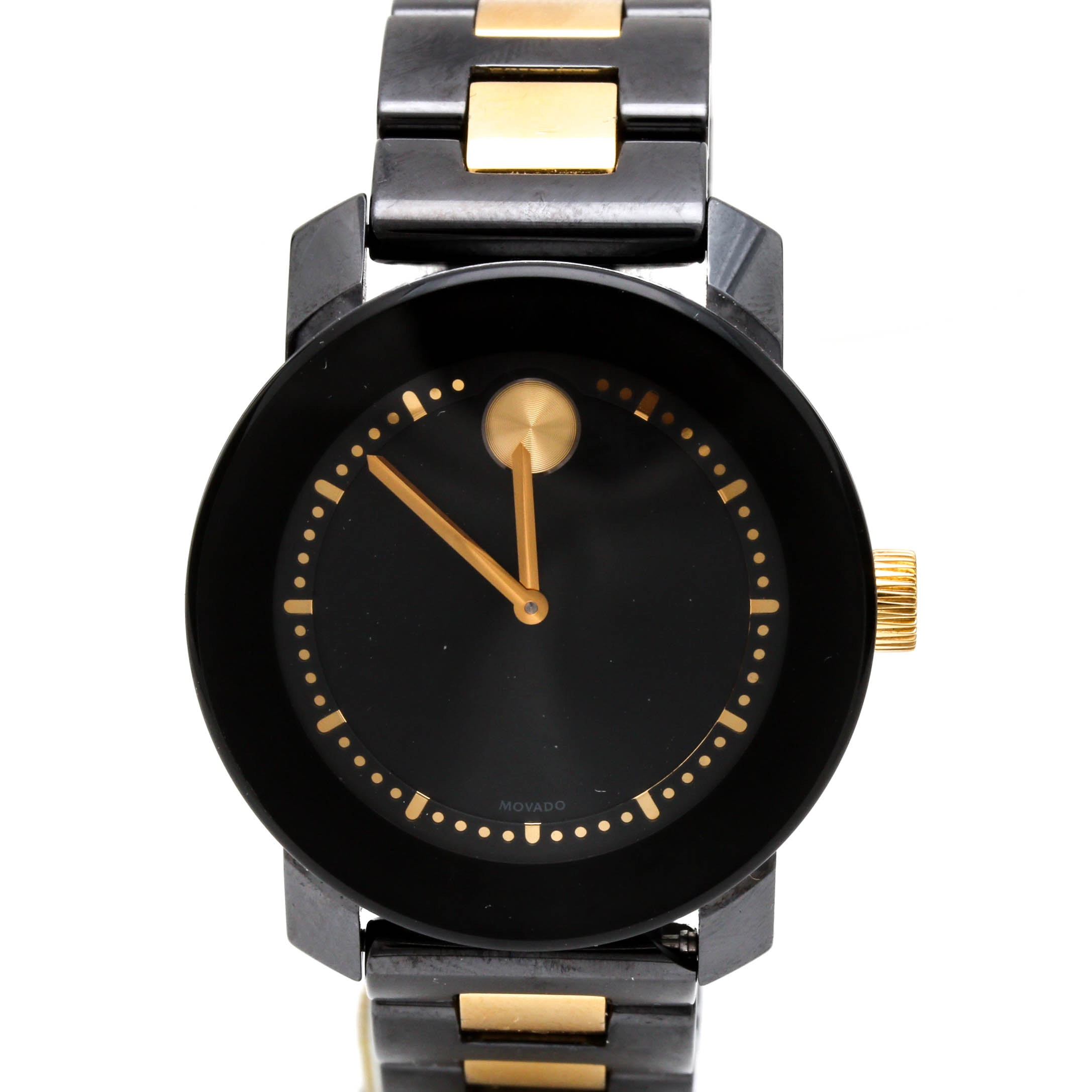 "Movado ""Bold"" Two Tone Wristwatch"