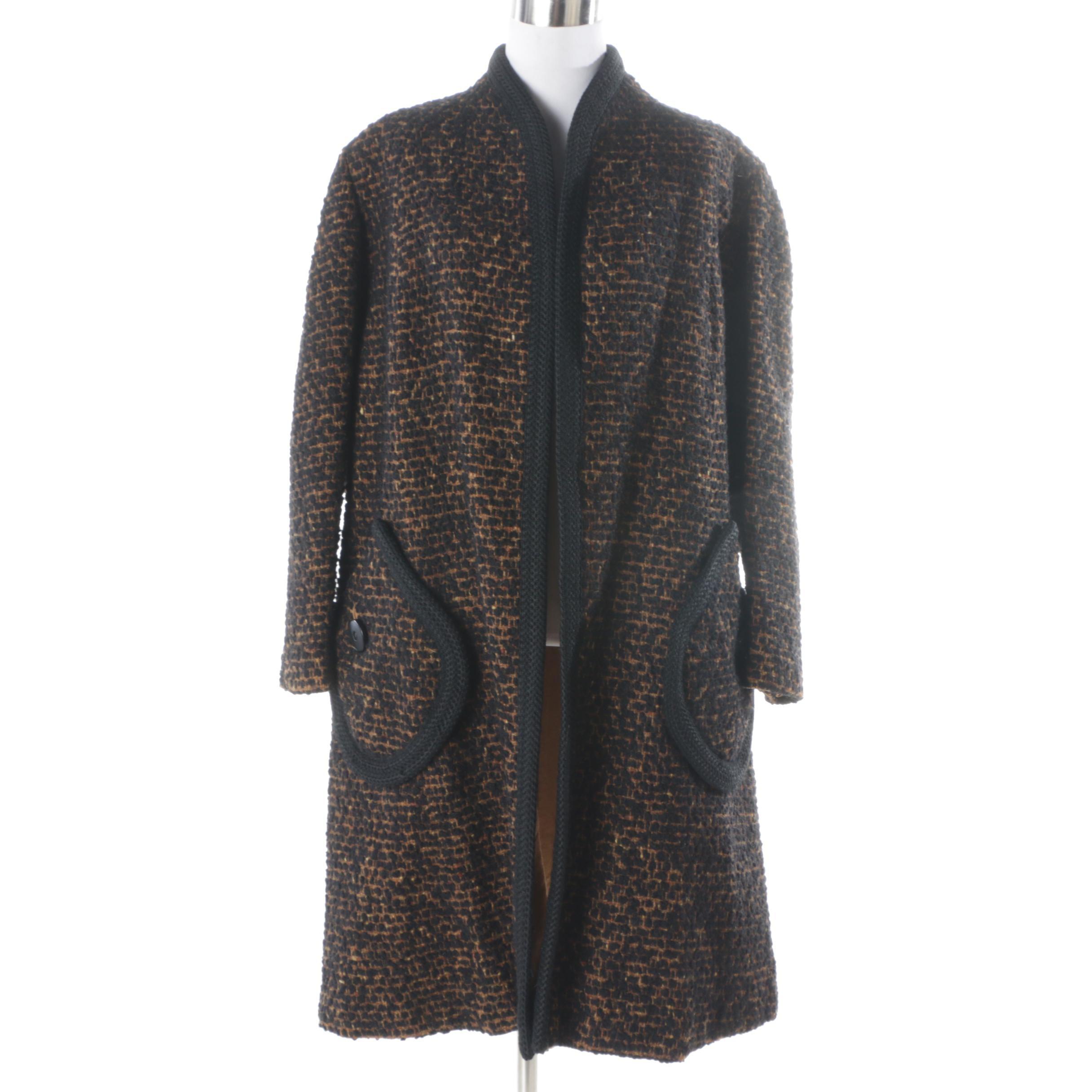 Women's Vintage Wool Blend Coat