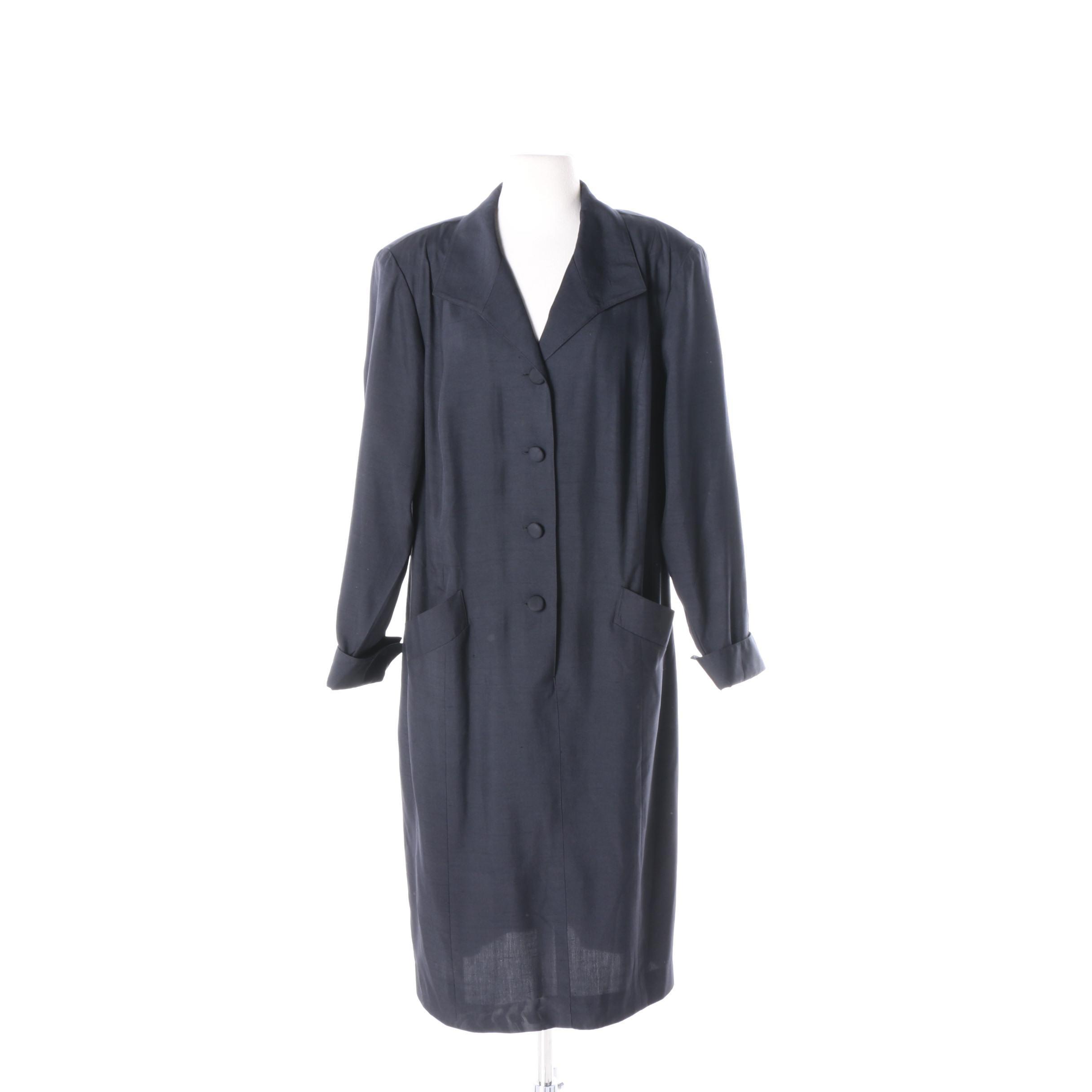 Gillian Silk Shirt Dress