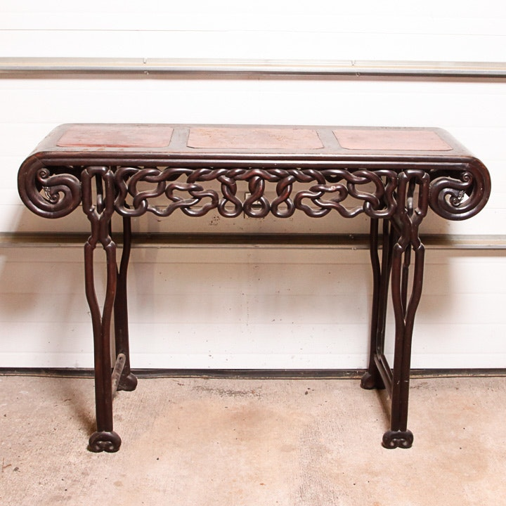 Chinese Carved Altar Table