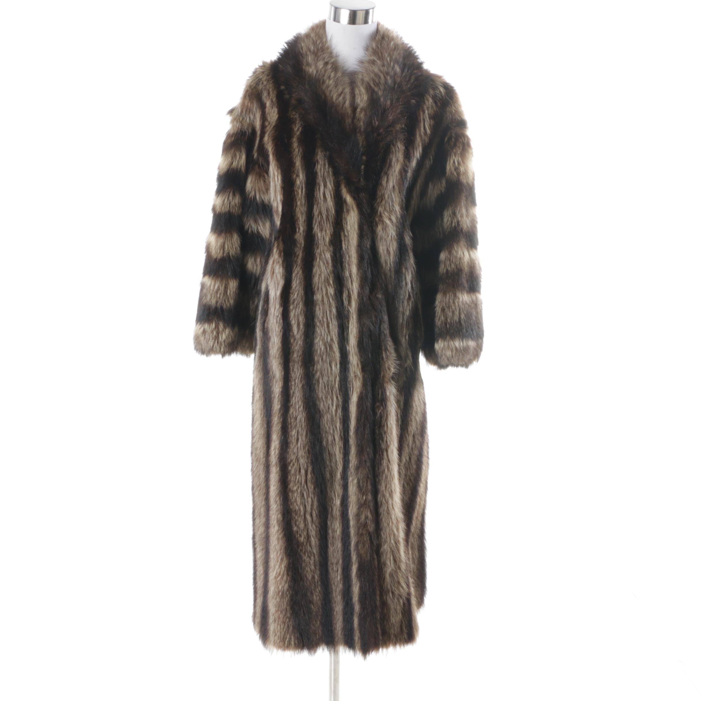 Women's Bruno & Joseph Raccoon Fur Coat