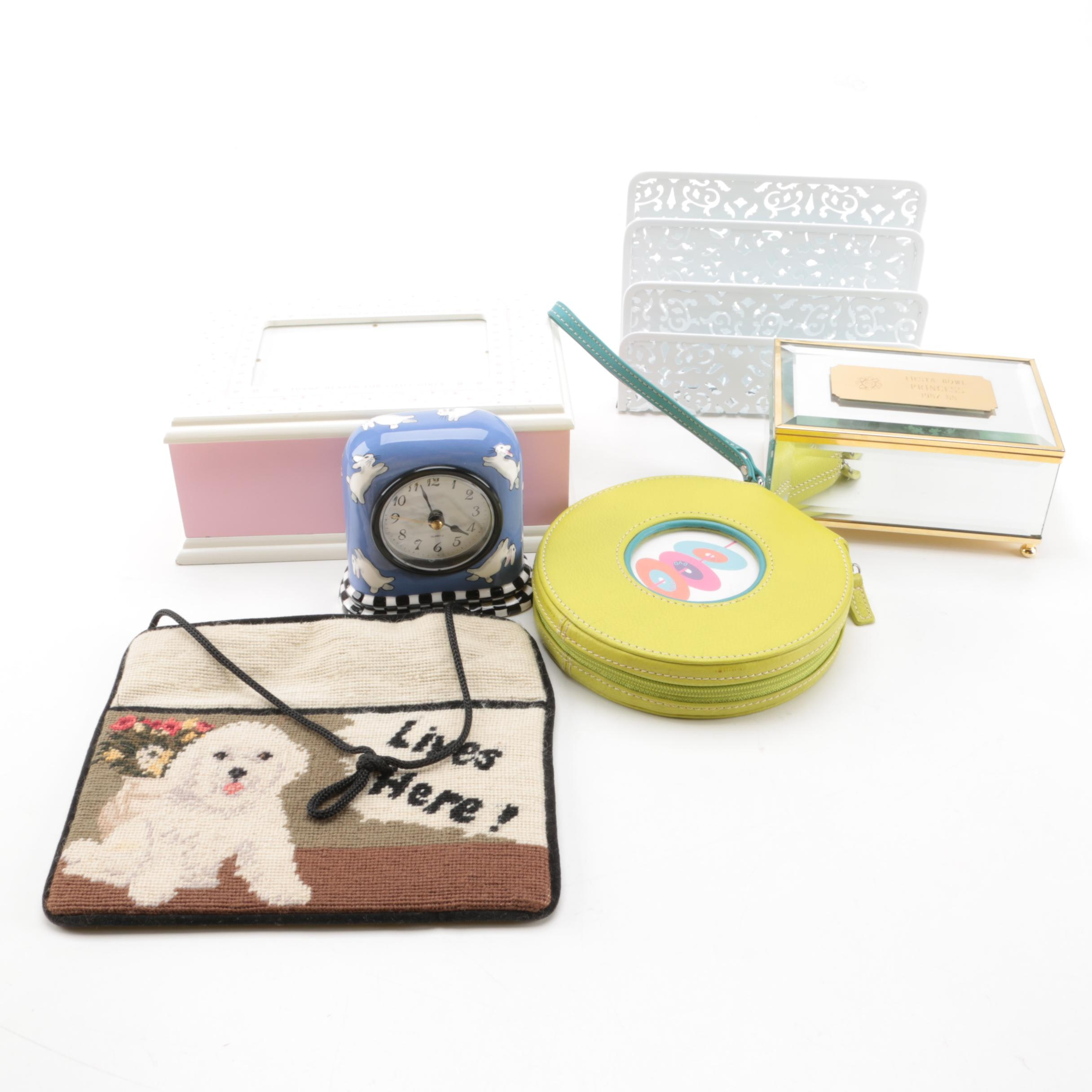 Trinket Boxes and Office Décor