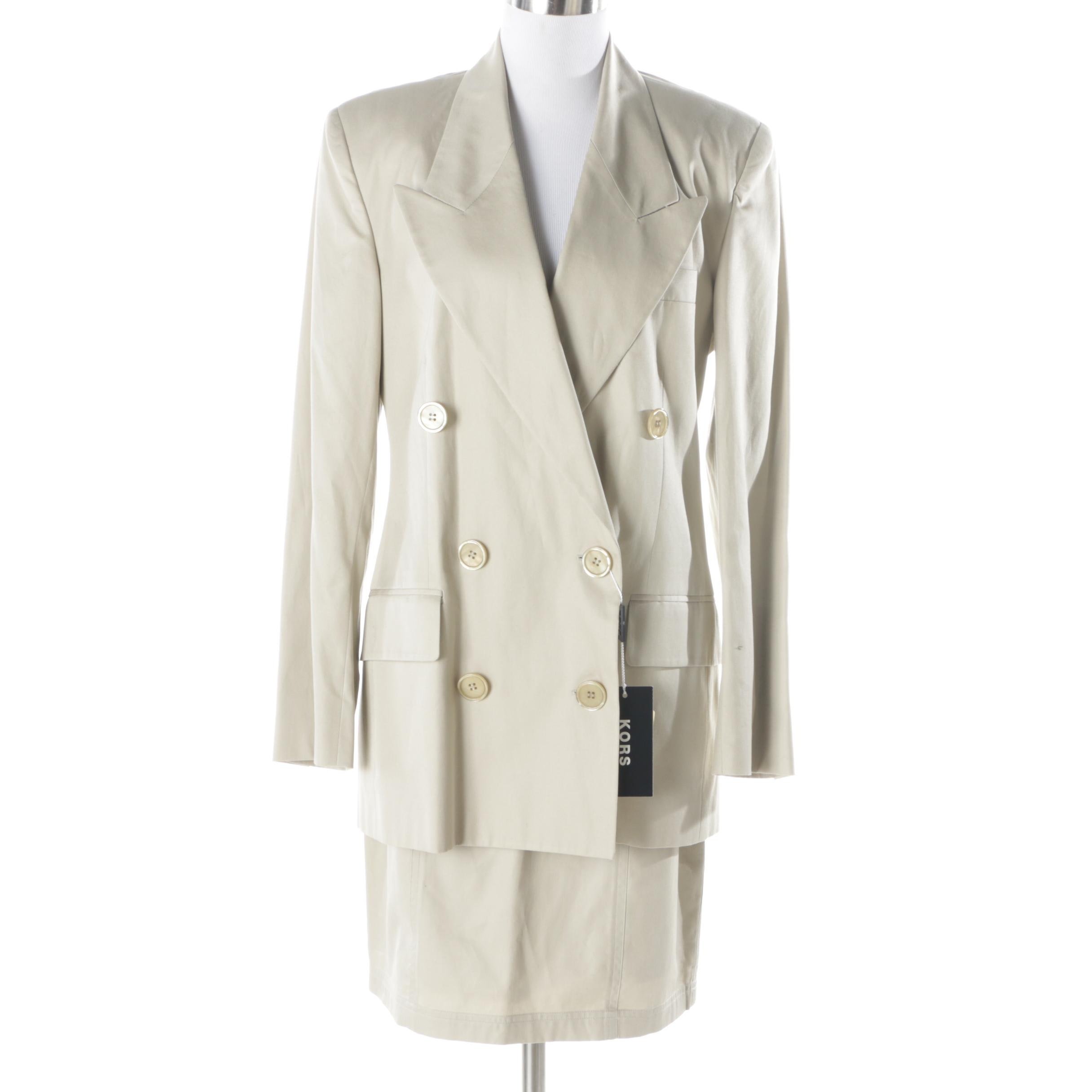 Women's Kors by Michael Kors Skirt Suit