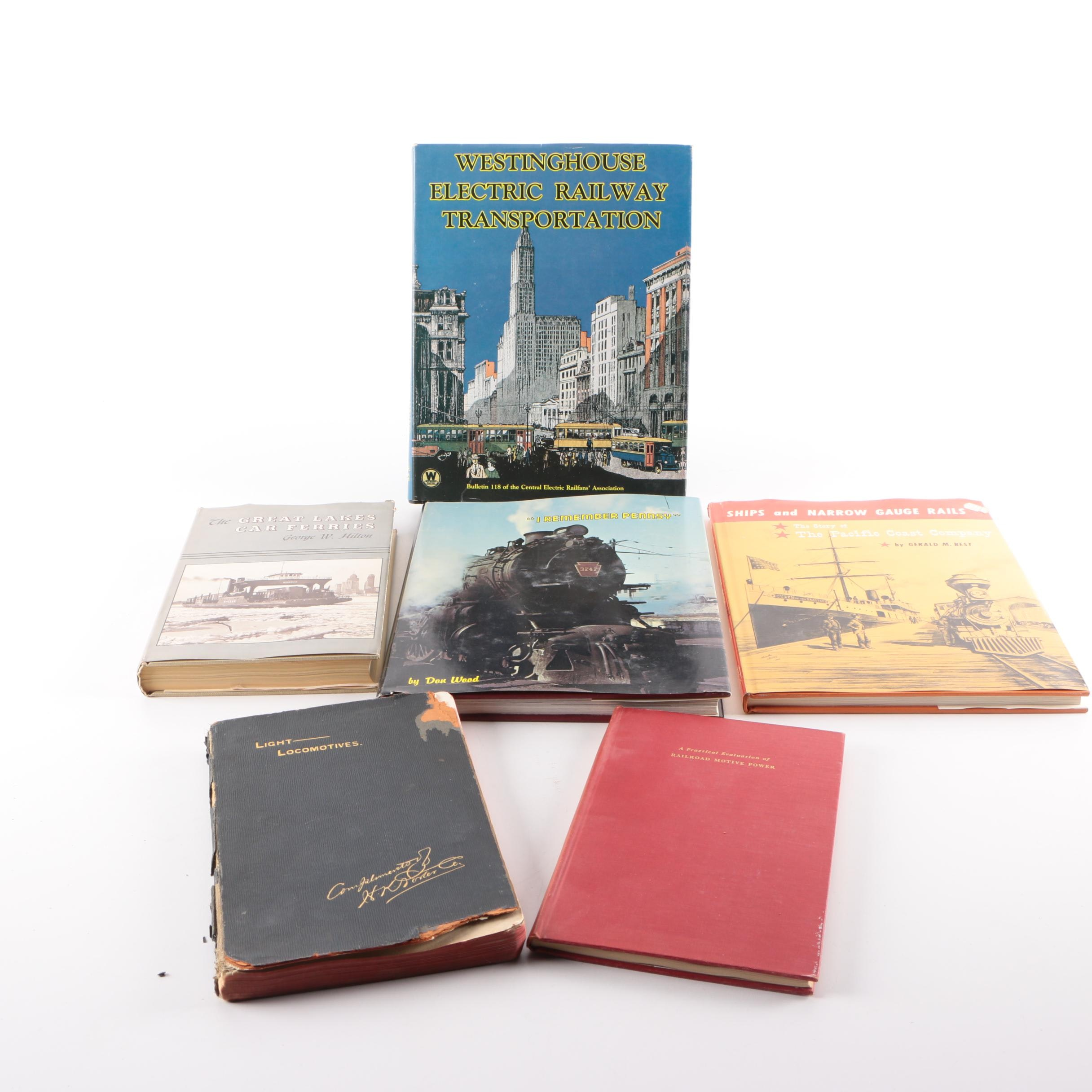 """Books on Trains and Railroads including """"I Remember Pennsy"""""""