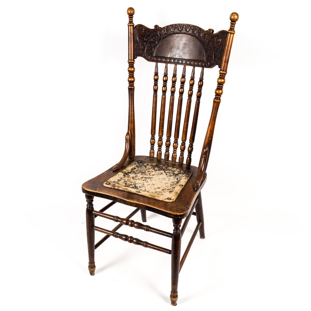 Vintage Victorian Style Accent Chair