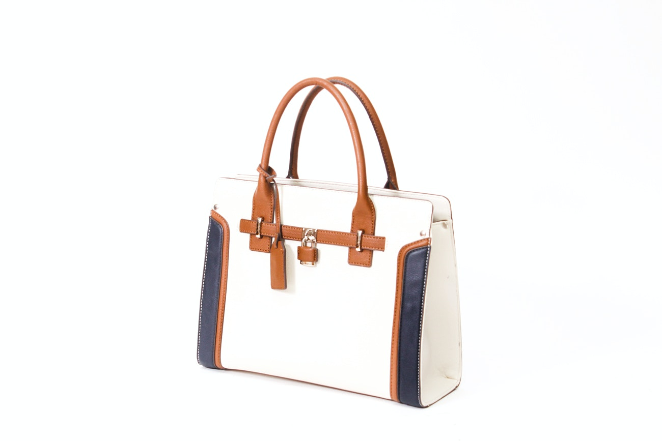 Tri-Tone Satchel by Nine West