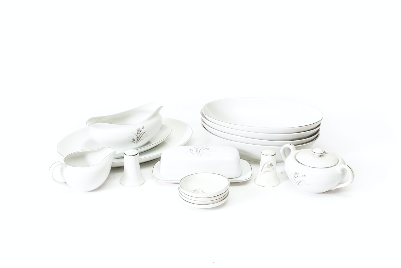 """""""Royal Elegance"""" by Creative Fine China Serving Pieces"""