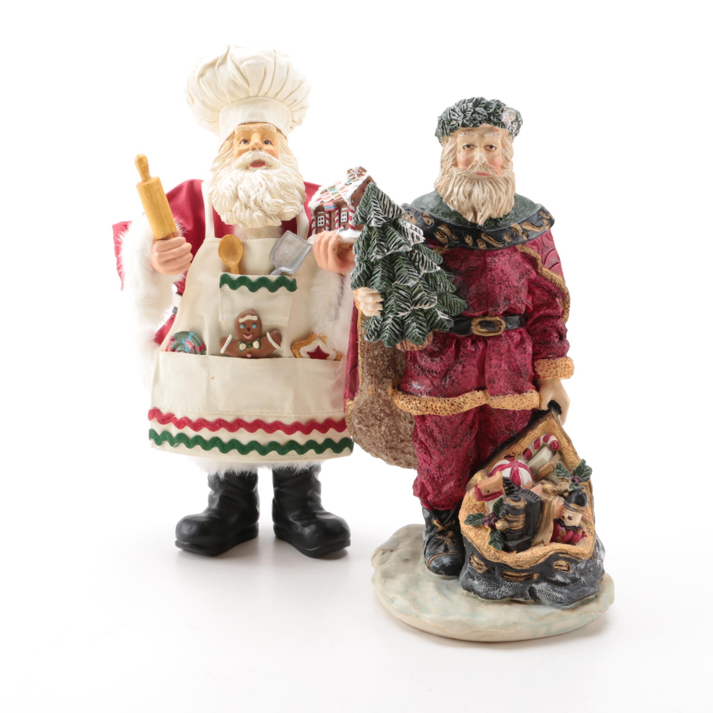 Santa Claus Figurines