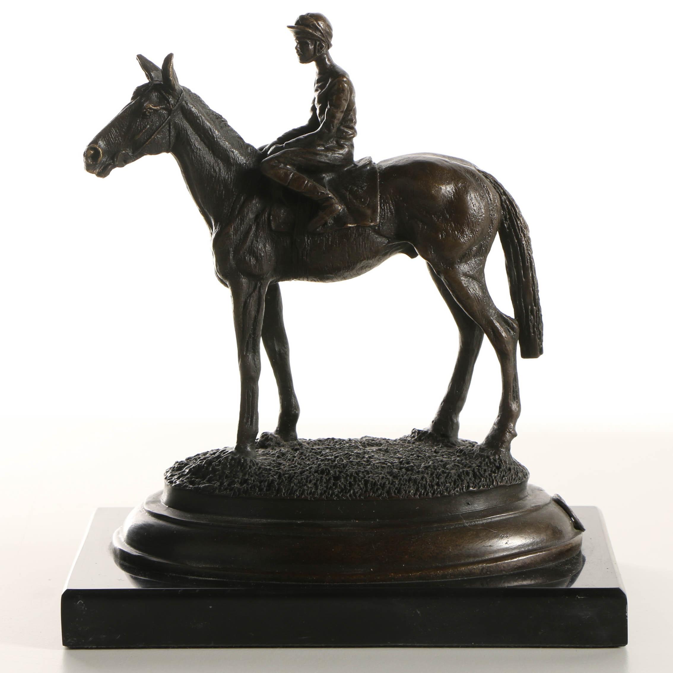 Bronze Sculpture after Aldo Vitaleh