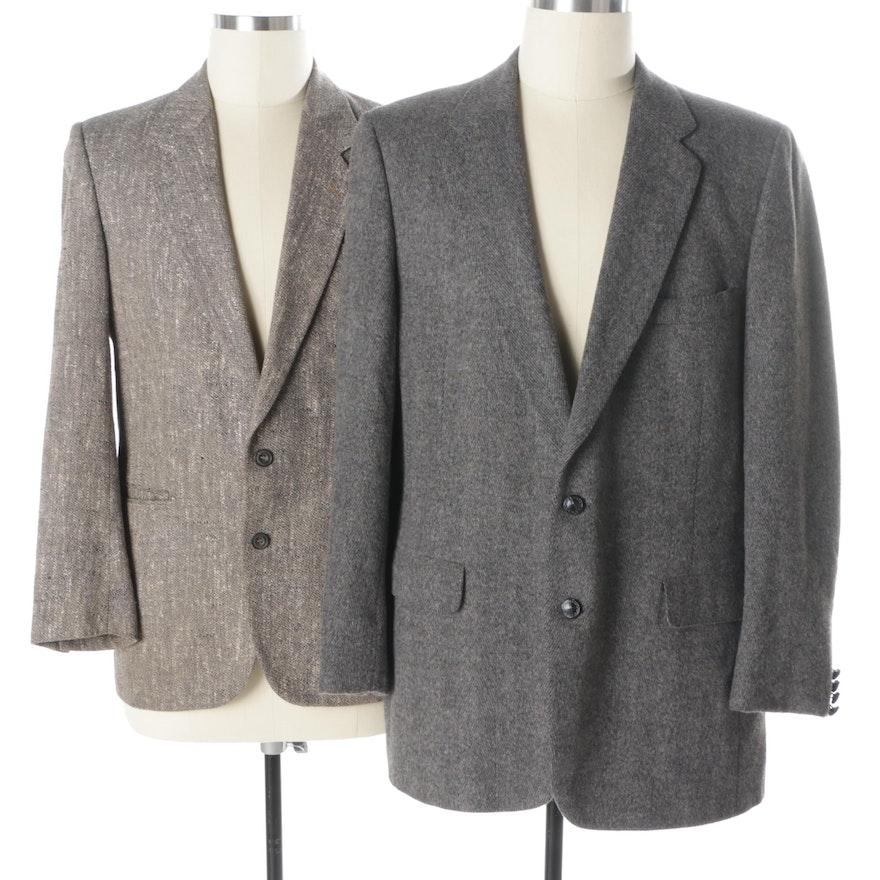 c4d6404f4 Men's Vintage Lanvin and Egon von Furstenberg Sport Coats : EBTH