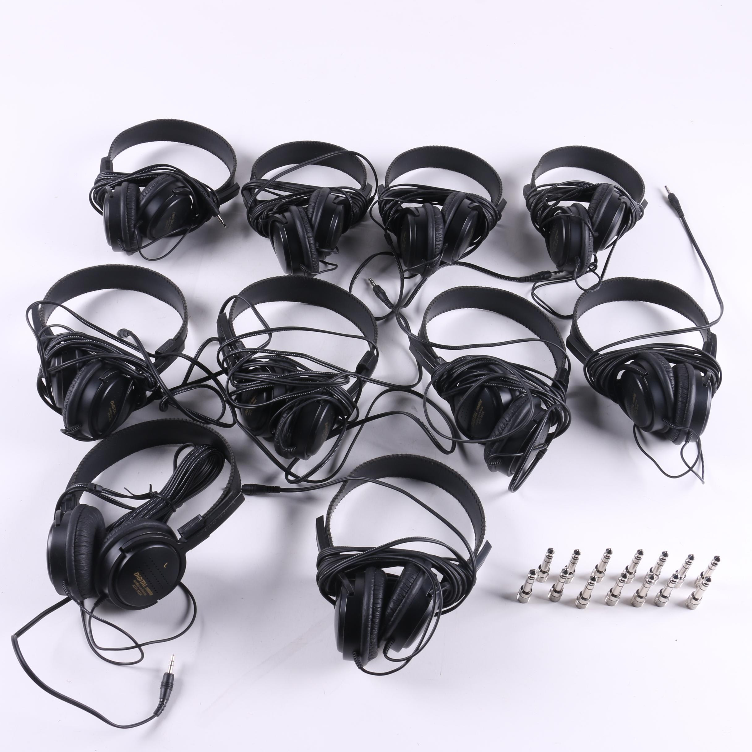 """Audio-Technica ATH-M2X Headphones with 1/4"""" Adapters"""