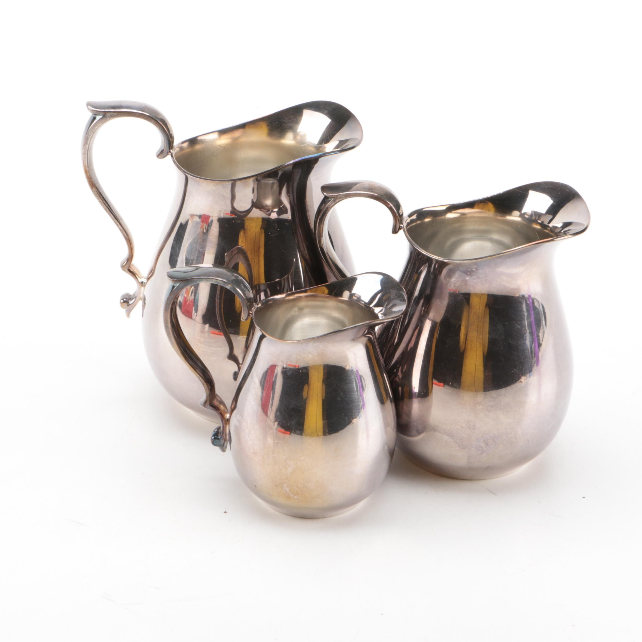 Reed & Barton Silver Plate Pitchers