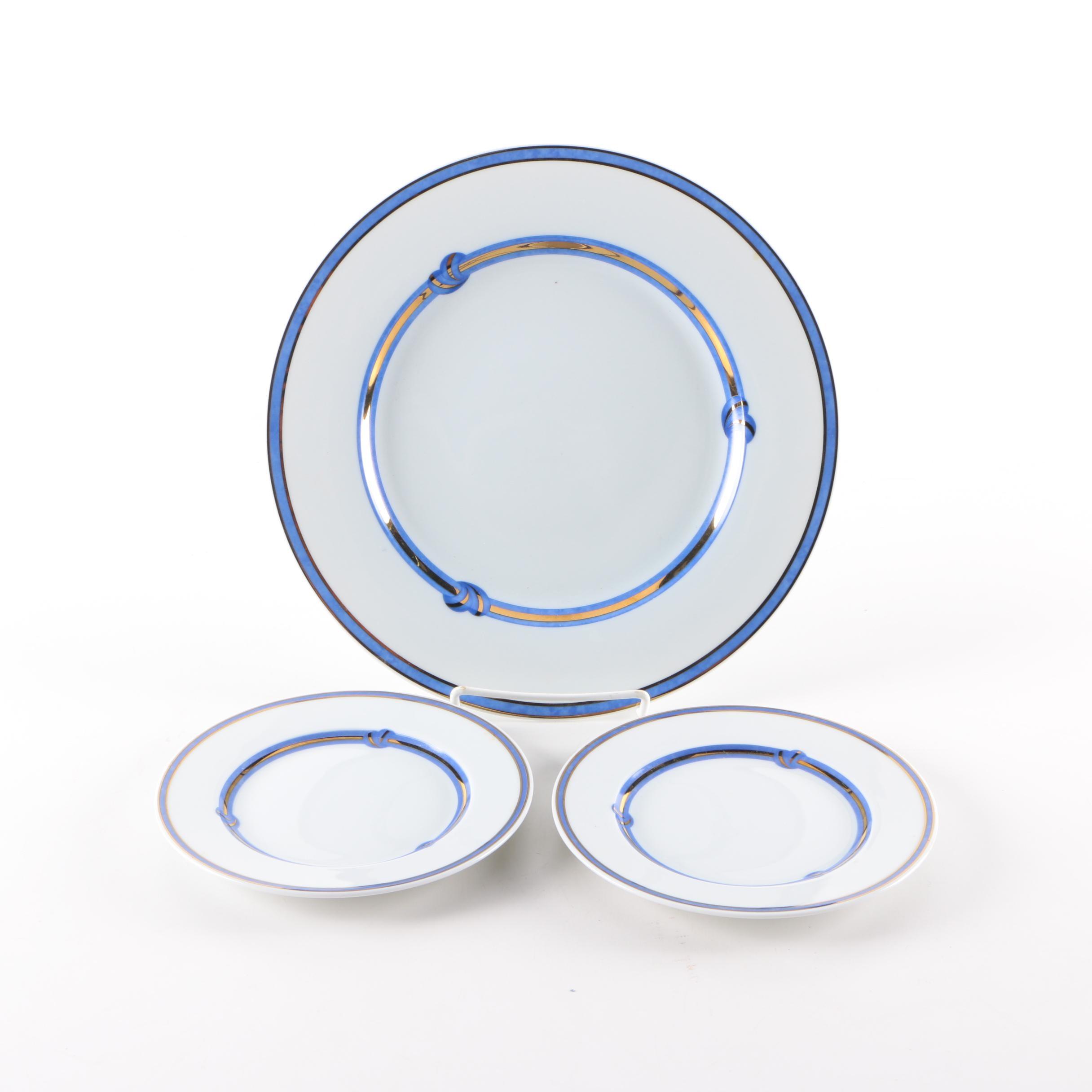 Christofle  Rubanea Bleu  Porcelain ...  sc 1 st  EBTH.com & Christofle