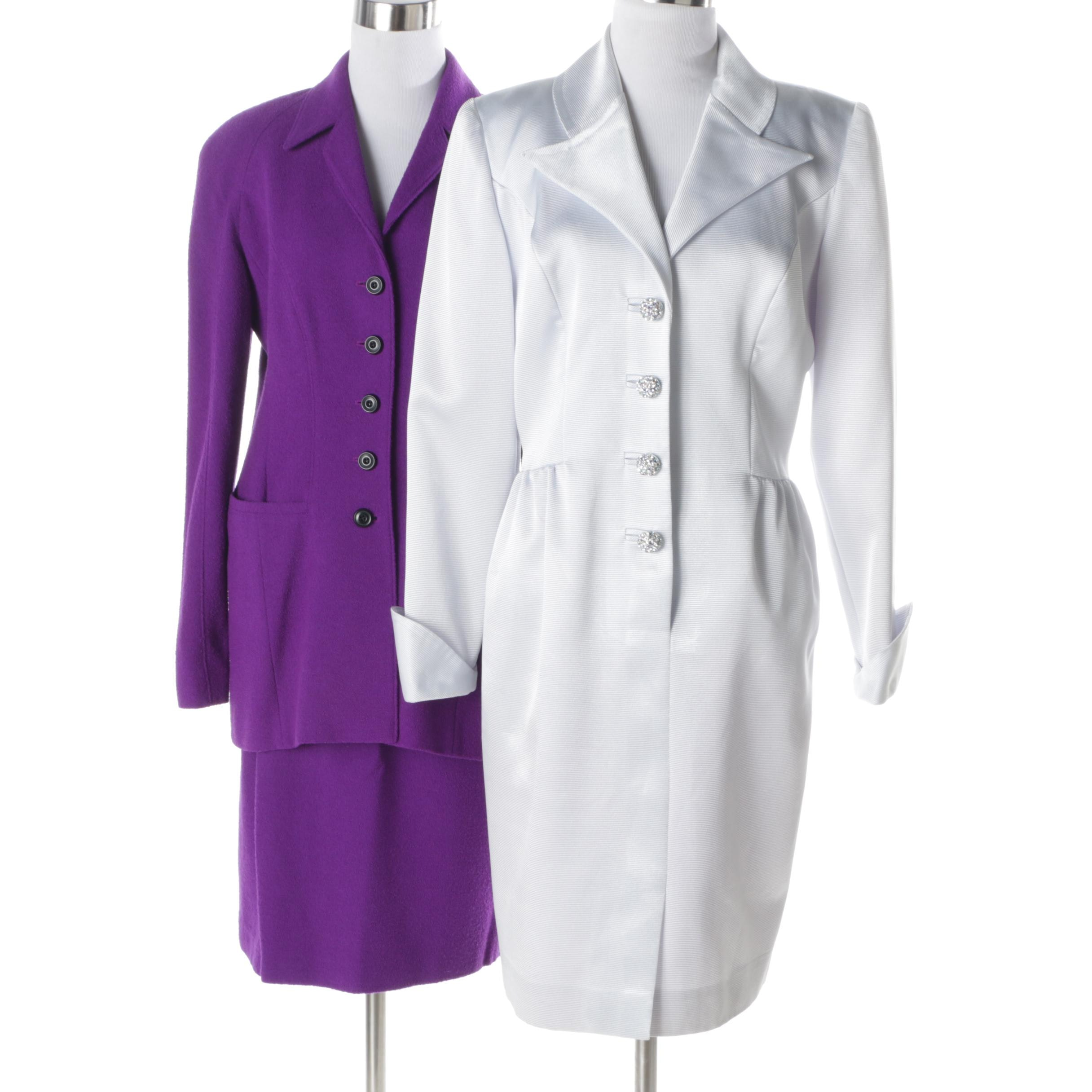 Women's Escada Suit and Nahdré by Victor Costa Dress