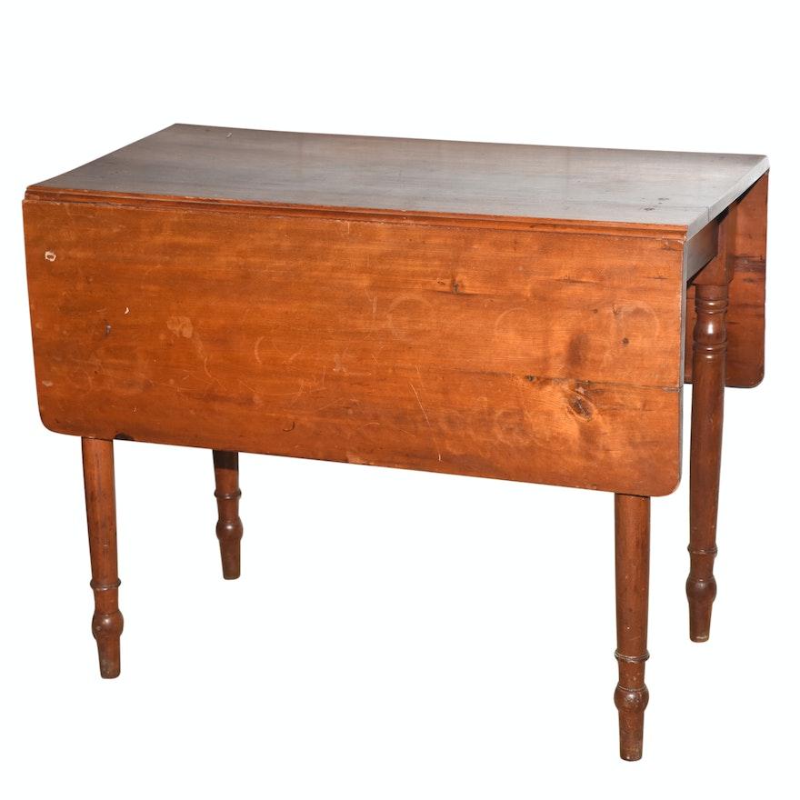 Vintage Drop Leaf Table Ebth