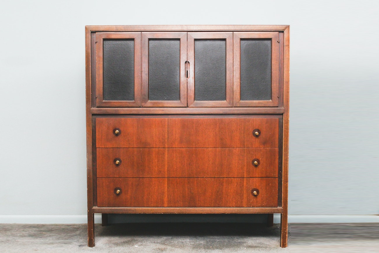 Mid Century Modern High-Boy Dresser by Basic-Witz