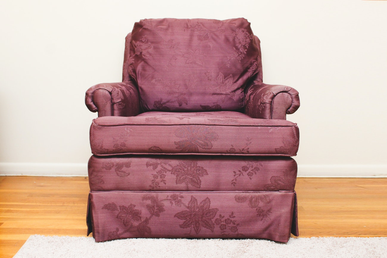 Upholstered Armchair by Lazarus Furniture
