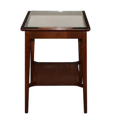 Mid Century Modern Mersman Mahogany Veneer Coffee Table Ebth