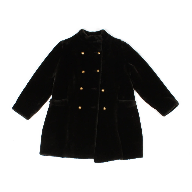 Vintage Petite Faux Fur Borg Coat by Borgazia