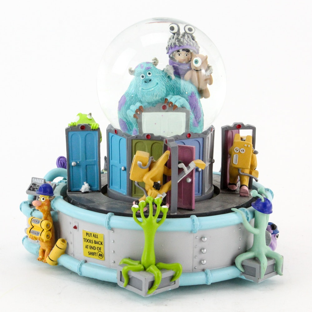 """Monsters, Inc """"If I Didn't Have You"""" Snowglobe"""