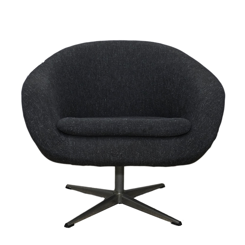 Danish Modern Gray Armchair by Kanan Denmark