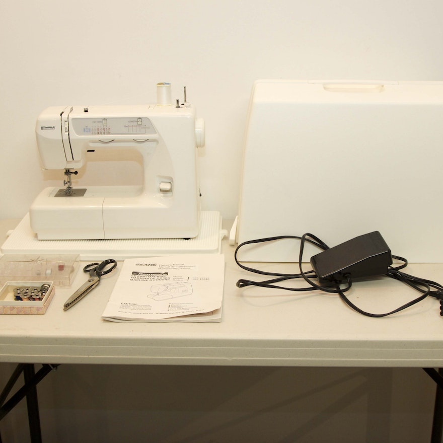 Sears Kenmore Sewing Machine EBTH Stunning Who Makes Kenmore Sewing Machines For Sears