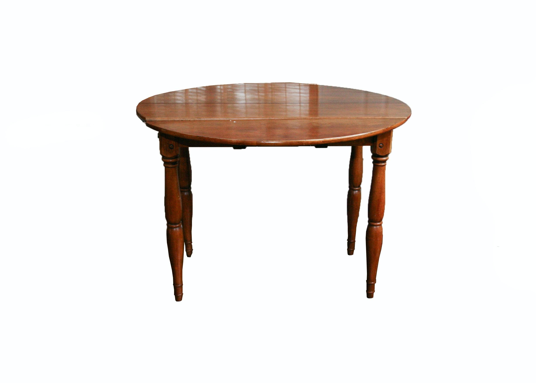 Vintage Walnut Drop Leaf Table