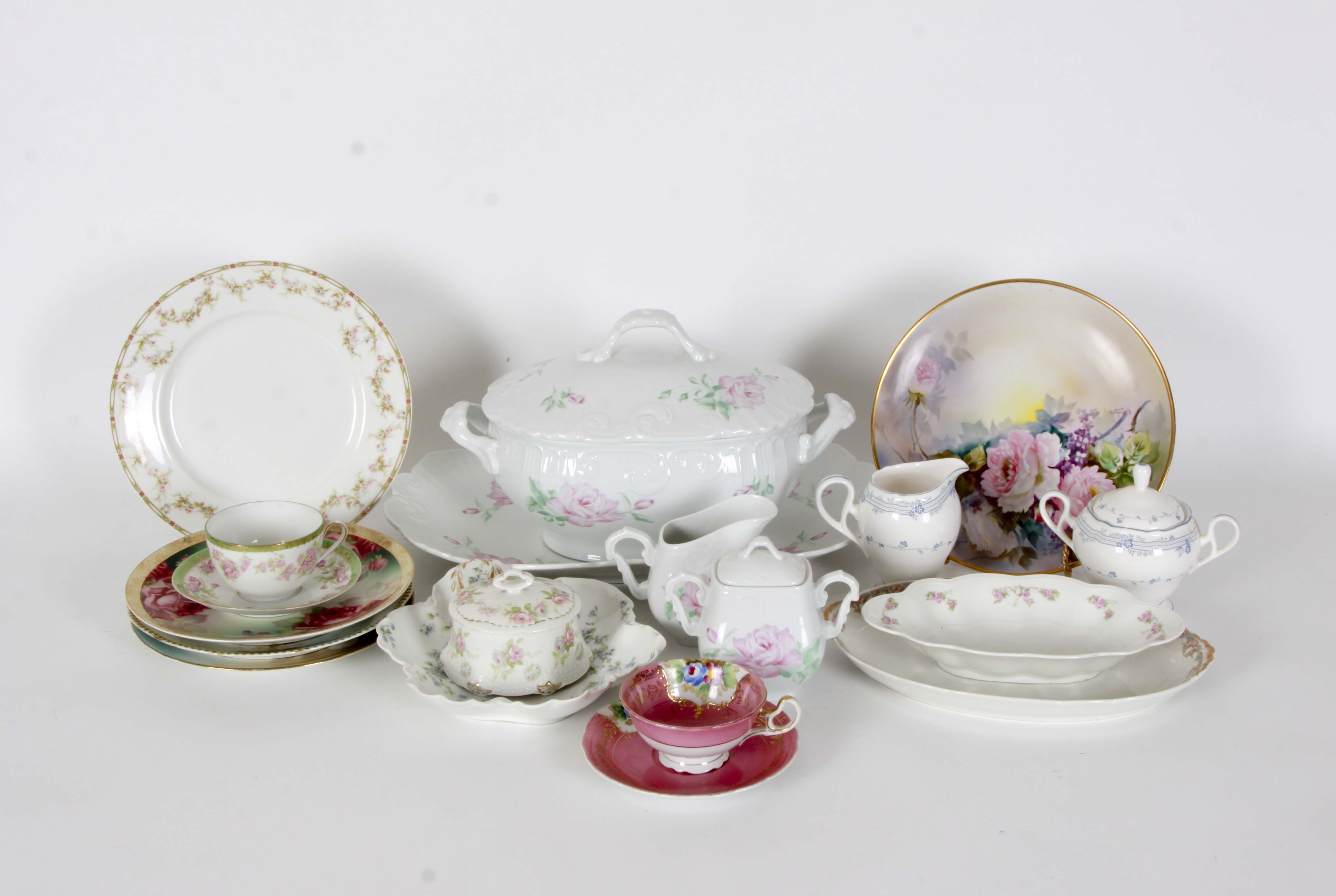 Floral Tableware Collection including RS Germany and Limoges