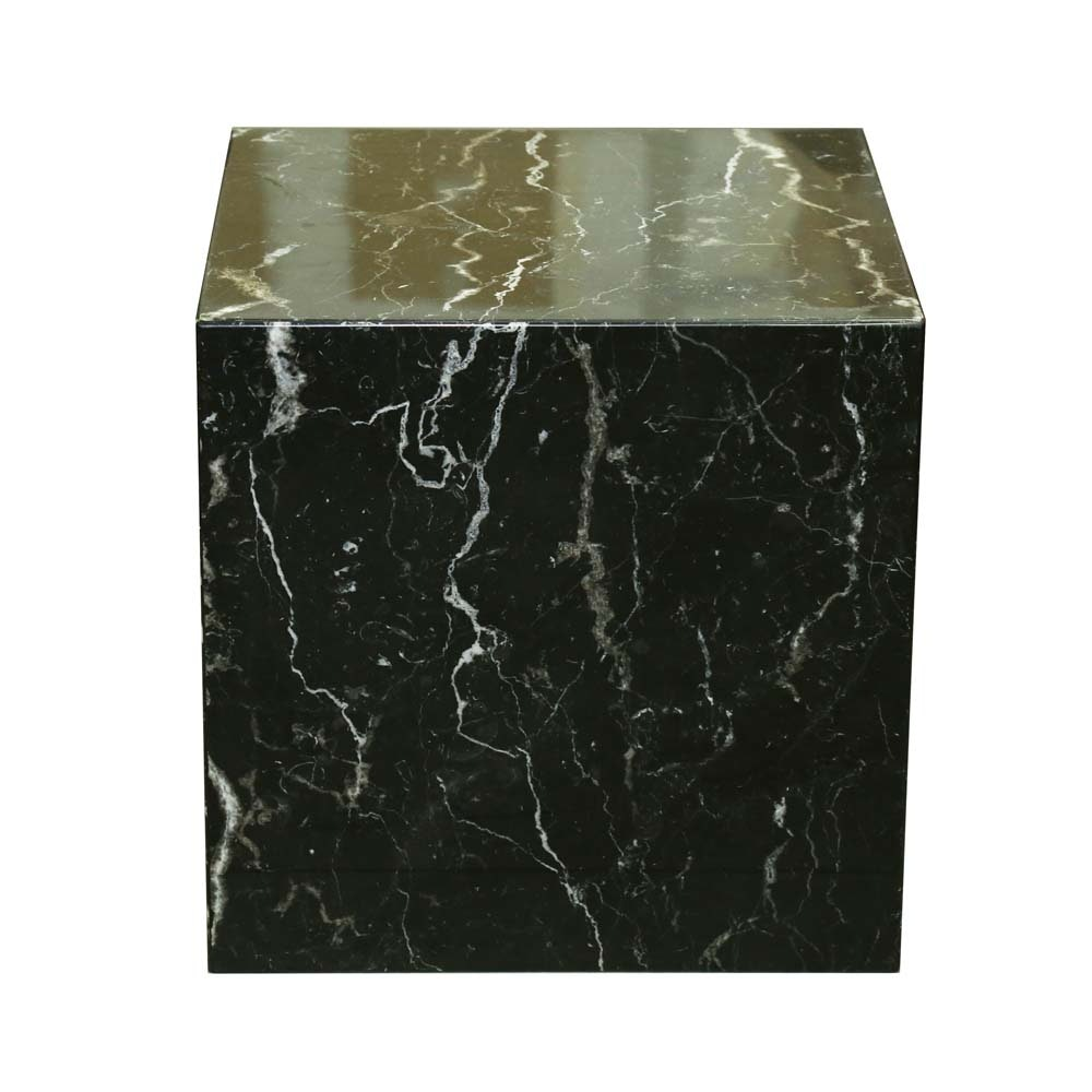 Marble Cube Accent Table