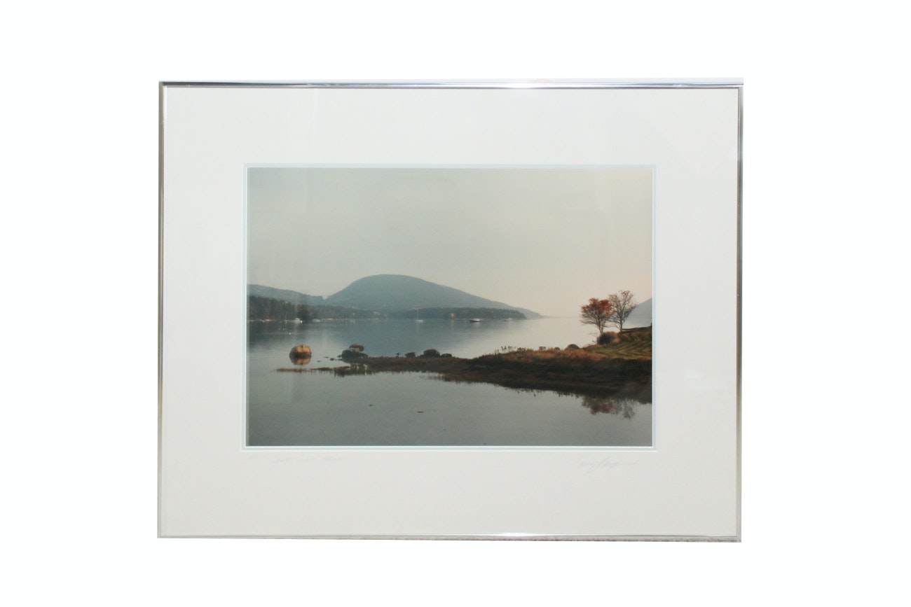 "Artist's Proof Photograph ""Somes Sound Maine"" by Tony Casper"