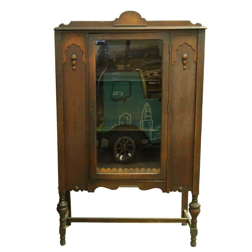 Vintage Depression Era China Cabinet