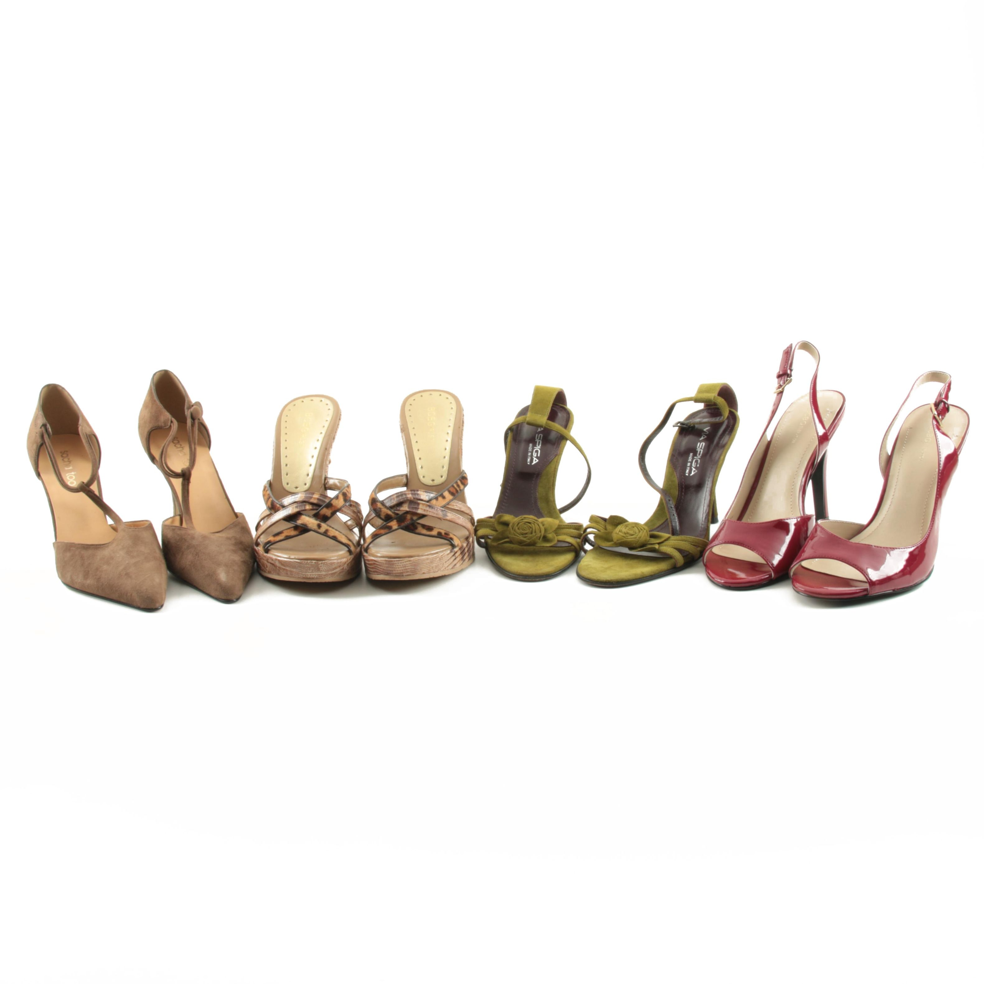 Women's High Heels and Wedges Including Via Spiga and Sacha Too